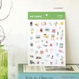 03 Interest - Byfulldesign At home useful deco sticker sheet set ver2