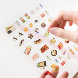 02 My Pantry - Byfulldesign At home useful deco sticker sheet set ver2
