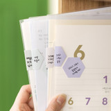 Byfulldesign Useful label removable sticker set