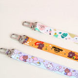 Monopoly Brown and friends neck strap