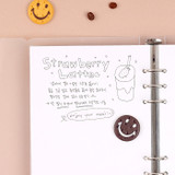 01 Blank - Wanna This Notebook refill papers for A5 size 6 ring binder