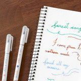 Usage example - ICONIC Double color line in one pen set of 3