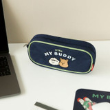 Usage example - Dailylike With My Buddy zipper pencil case pouch