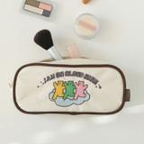Usage example - Dailylike Jelly bear zipper pencil case pouch