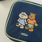 Usage example - Dailylike With My Buddy small zipper pouch
