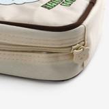 Detail of Dailylike Jelly bear small zipper pouch