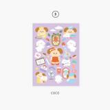 03 Coco - Second Mansion Enfant friends removable sticker 01-08