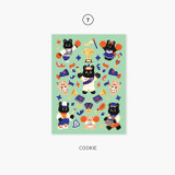 07 Cookie - Second Mansion Enfant friends removable sticker 01-08