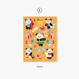 08 Popo - Second Mansion Enfant friends removable sticker 01-08