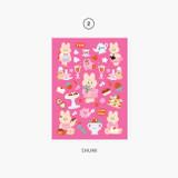 02 Shumi - Second Mansion Enfant friends removable sticker 01-08