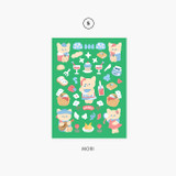 05 Mori - Second Mansion Enfant friends removable sticker 01-08