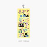 07 Home training - Second Mansion Enfants removable sticker seal 01-09