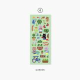 06 Garden - Second Mansion Enfants removable sticker seal 01-09
