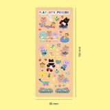 Size - Second Mansion Enfants removable sticker seal 01-09