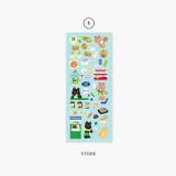 01 Store -Second Mansion Enfants removable sticker seal 01-09