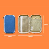 Size of Mungunyang zip around pencil case pouch