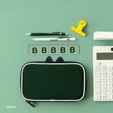 Green - Mungunyang zip around pencil case pouch