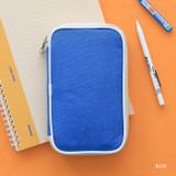 Blue - Mungunyang zip around pencil case pouch