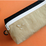 Water resistant - Indigo Mungunyang triangle zipper pencil case pouch