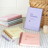 ICONIC Compact A5 wire bound grid notebook