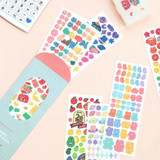 ICONIC Sunny glitter removable sticker seal pack