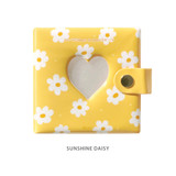 Sunshine daisy - Instax mini 3 ring slip in pocket photo album