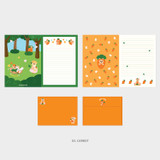 03. Carrot - Second Mansion Jucy and Paul letter and envelope set