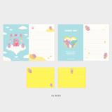 02 Rody - Second Mansion Enfant friends letter and envelope set