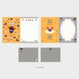 06 Cookie - Second Mansion Enfant friends letter and envelope set