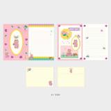 01 Tory - Second Mansion Enfant friends letter and envelope set