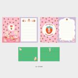 04 Shumi - Second Mansion Enfant friends letter and envelope set