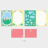 07 Mori - Second Mansion Enfant friends letter and envelope set