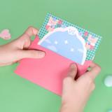 Envelope - Second Mansion Enfant friends letter and envelope set