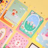 Second Mansion Enfant friends letter and envelope set