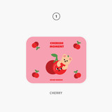 01. Cherry - Second Mansion Jucy and Paul desk mouse pad
