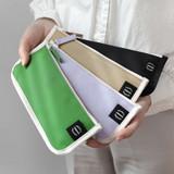 2NUL Pencil keeper flat zipper cotton pen case