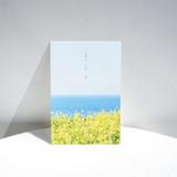 Rape blossom - Meri Film Spring flowers post card