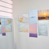 Usage example - Meri Film Muuido travel postcard set