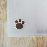 Cute detail - N.IVY Hi Cozy Bear translucent document file holder