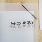 Elastic band closure - N.IVY Hands up Cozy Bear translucent document file holder