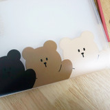 Cute detail - N.IVY Hands up Cozy Bear translucent document file holder
