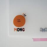 Cute detail - N.IVY Mong pocket translucent document file holder