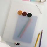 N.IVY Mong pocket translucent document file holder