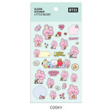 Cooky - BT21 Little Buddy baby clear sticker