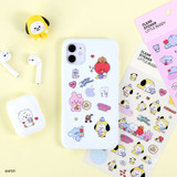 Usage example - BT21 Little Buddy baby clear sticker
