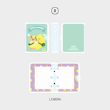 03 lemon - Second Mansion Jucy and Paul 3 ring grid notebook