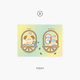 03 today - Second Mansion Enfants Holographic Postcard