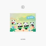 06 aloha - Second Mansion Enfants Holographic Postcard