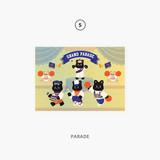 05 parade - Second Mansion Enfants Holographic Postcard