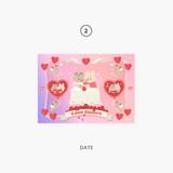 02 date - Second Mansion Enfants Holographic Postcard